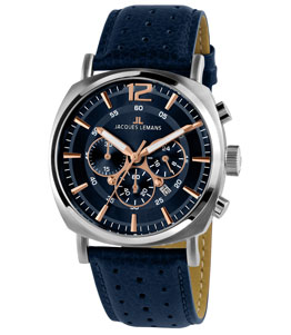 Lugano - JACQUESLEMANS MEN WATCH 1-1645.1I