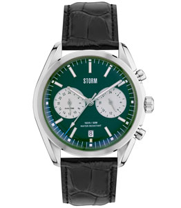 TREXON LEATHER GREEN - STORM WATCHES 47357/GN