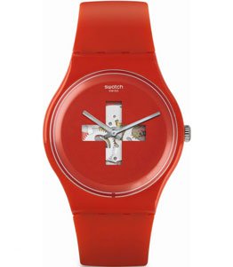 SWISS AROUND THE CLOCK - SWATCH SUOR106