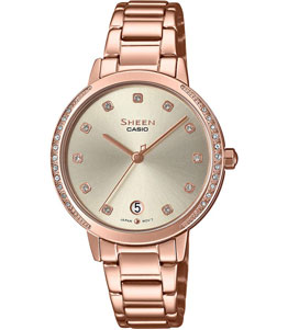 SHEEN - casio watch SHE-4056PG-4AUDF