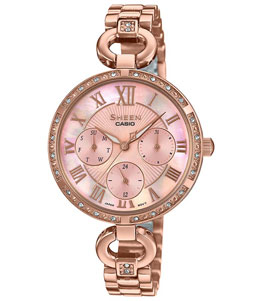 SHEEN - CASIO WOMEN WATCH SHE3067PG4AUDF