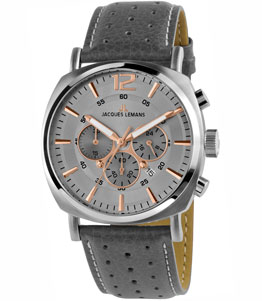 Lugano - JACQUESLEMANS MEN WATCH 1-1645.1L