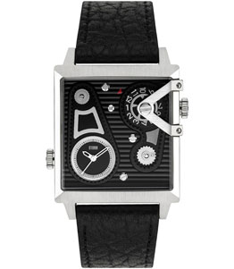 DUAL SQUARE BLACK - Storm watch reference ST47201/BK