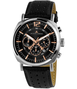 Lugano - JACQUESLEMANS MEN WATCH 1-1645.1J